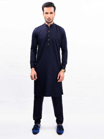 ROYAL NAVY KURTA PAJAMA SLIM FIT