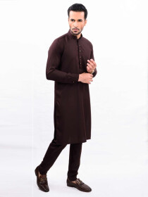 BORDEAUX SLIM FIT KURTA PAJAMA