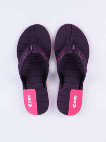 Dark Purple Kito Flip Flop for women - AA62W