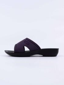 Dark Purple Kito Chappal for Women - AN17W