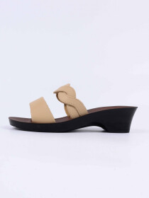 Cream Kito Chappal for Women- UW7050