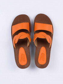 Orange Kito Chappal for Women- UW7050