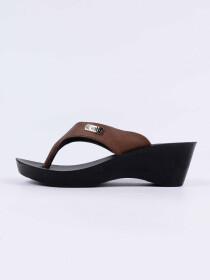 Brown Kito Chappal for Women - UW7070