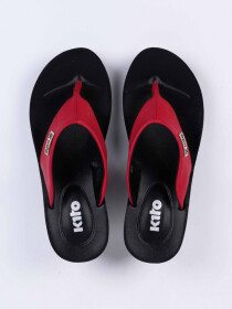 Red Kito Chappal for Women - UW7070