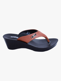 Tan Kito Chappal for Women - UW7070