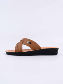 Tan Kito Chappal for Women - AN8W