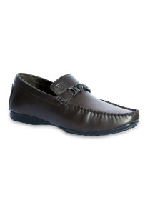 Tuxedo Brown Men Moccasins & Loafers