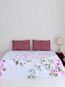 Fleurs Infusees Bed Sheet