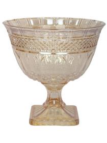 Decoration Dish Basket Golden 316