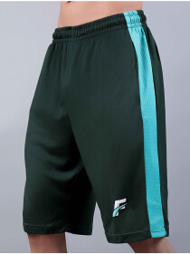 Green Teal Active Fit Men's Shorts