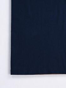 SF Flock Norwich Navy Cotton Tee Shirt