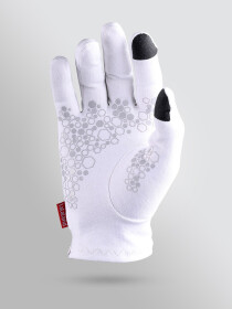 Men Smartphone Touchscreen & Driving Gloves White 2 Pairs Pack