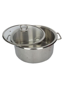 Alpha Stainless Steel Cookware Casserole 22Cm