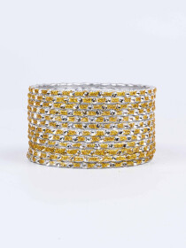 Solitaire Aluminium Bangles for Women