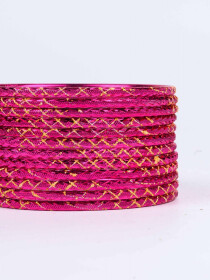 Rose Ornate Aluminium Bangles for Women