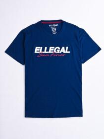 SF Applique BlueCotton Tee Shirt
