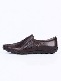 Coffee Brown Casual Roman Sandal for Men