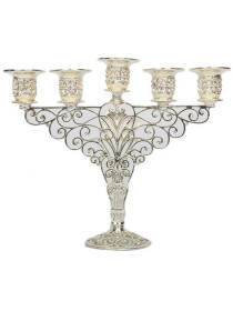 Candle Stand Silver 5 Portions