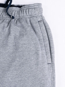 "Epic Terry Knit  Jogger Shorts 10"" Heather Grey"