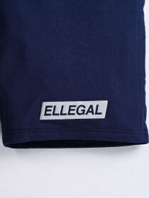 "Epic Terry Knit  Jogger Shorts 10"" Navy Blue"