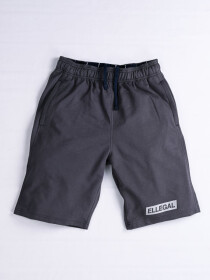 "Epic Terry Knit  Jogger Shorts 10"" Dark Grey"