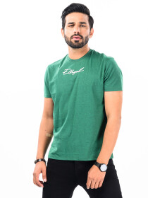 Cally Custom Fit Cotton Blend Tee Shirt- Bright Green