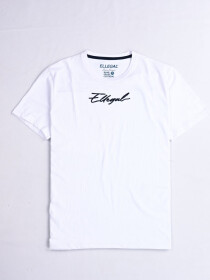 Cally Custom Fit Cotton Blend Tee Shirt- White