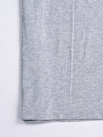 Cally Custom Fit Cotton  Tee Shirt- Grey