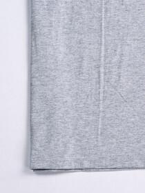 Cally Custom Fit Cotton Blend Tee Shirt- Grey