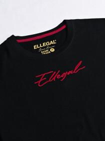 Cally Custom Fit Cotton Blend Tee Shirt- Black