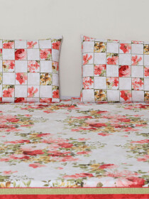 Crimson Glory Bedsheet Set