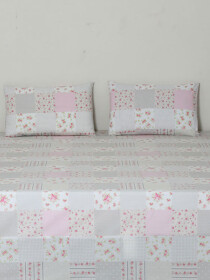 Fragrance Light Color Bedsheet Set