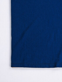 SF Applique Blue Cotton Tee Shirt