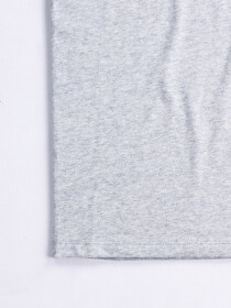 3.0 Grey & Blue Custom Fit Contrast Tee