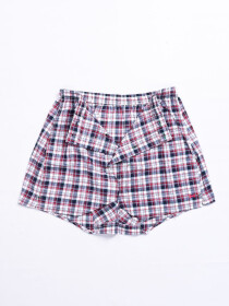 Men Multi Check Woven Trunk Assorted 2-pack