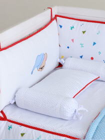 Party Poppers Cot Bedding Set