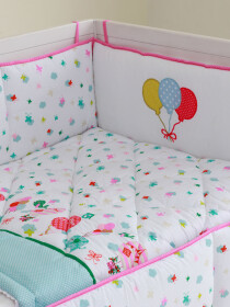 Up & Away Cot Bedding Set