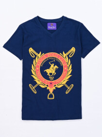 KINGS SHANDUR V NECK T-SHIRT
