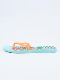 Ipanema Blue-Orange Flip-Flop