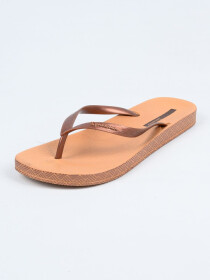 Ipanema Brown-Copper Flip-Flop