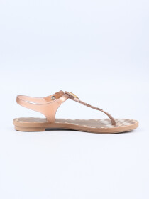 Grendha Clear Rose Acai Decore Sandal
