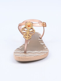 Grendha Clear Rose Acai Decore Sandal