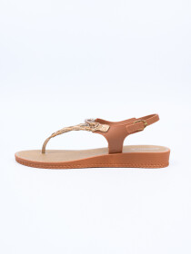 Grendha Brown Ibiza Sandal