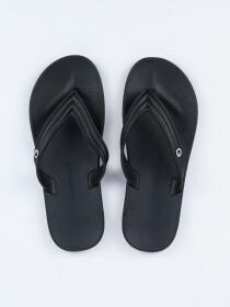Cartago Black-Black Porto Dedo AD Flip-Flop