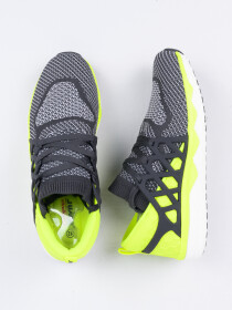 Men's Trainer Shoes Grey/Lime