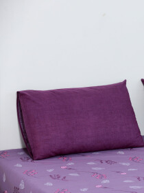 Clematis Purple Bedsheet Set