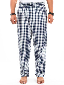 Black & White Check lightweight Cotton Relaxed Pajama