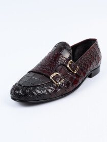 Croco Penny Loafer Men's Shoes