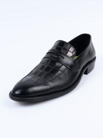 Men Moc Toe Slip On Loafers
