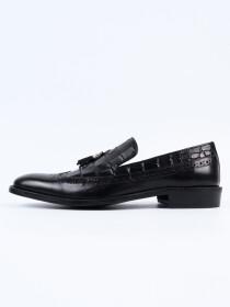 Men Classic Black Kempton Shoes
